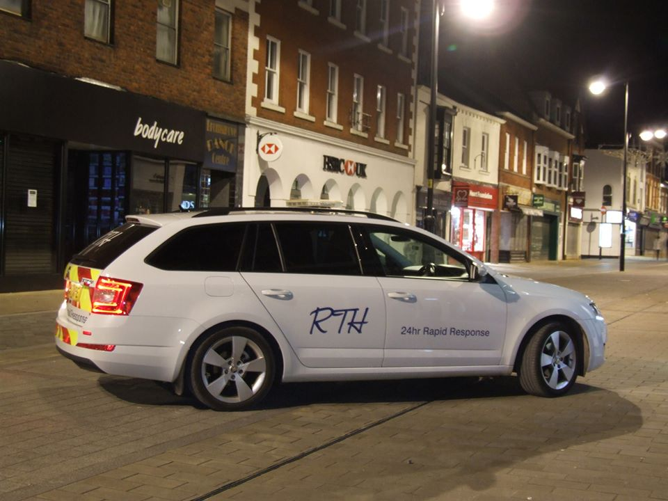 RTH Locksmiths in Birmingham mobile vehicle
